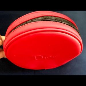 Dior Red Beauty Bag